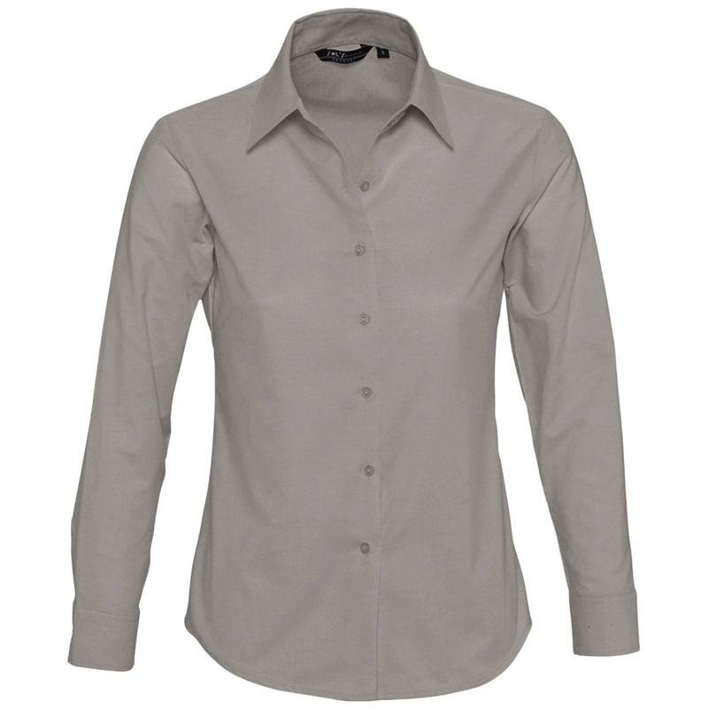d5f293796ae Сувениры   Одежда   Офисные рубашки   Рубашка женская с длинным рукавом  EMBASSY
